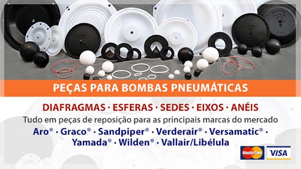 Peças para Bombas Pneumáticas