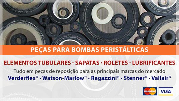 Peças para Bombas Peristálticas