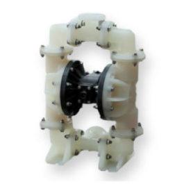 Bomba de Diafragma Pneumática plástica