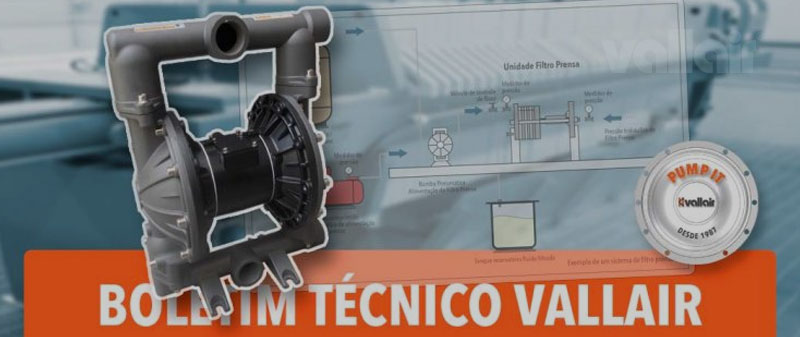 Boletim Técnico Vallair : Sistemas de Filtro Prensa