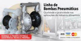 Bombas Pneumáticas para Indústria Alimentícia