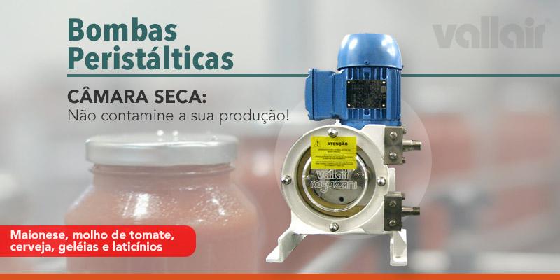 Bombas Peristálticas para Indústria Alimentícia