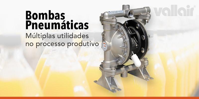 Bombas Pneumática para Indústria de Bebidas