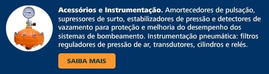 Acessórios e instrumentação